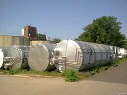 Емкость из нержавеющей стали, цистерна, бочка 50м3. - фото 3