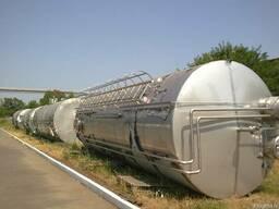 Емкость из нержавеющей стали, цистерна, бочка 50м3. - фото 4