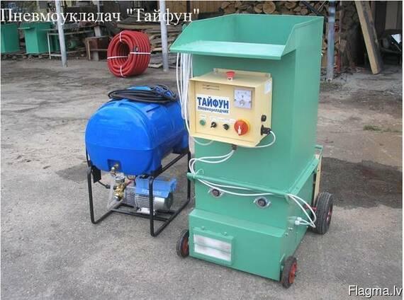 """Пневмовыдувное оборудование - установка """"Тайфун"""""""