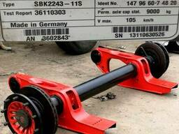 Интегральные оси SAF BI9-22K01