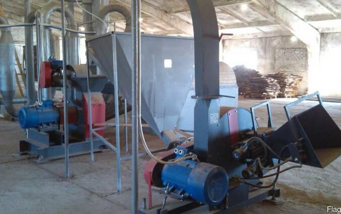 Производство биотоплива (200 кг/ч). Брикеты из опилок