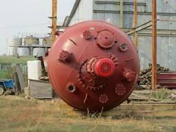 Реактор эмалированный 42м3. эмаль синяя. - фото 2