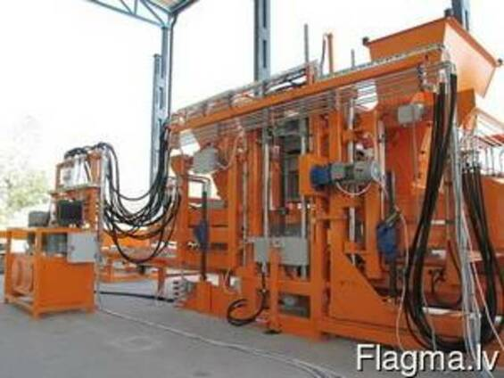 Vibropress bloku, bruģakmens bloku SUMAB U-1500, ražošanai