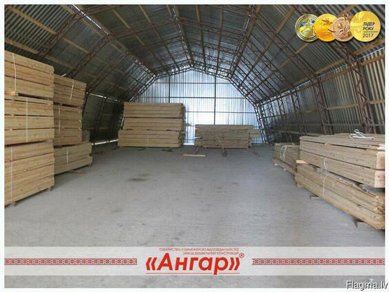 Ангары /цеха /склады под деревообработку