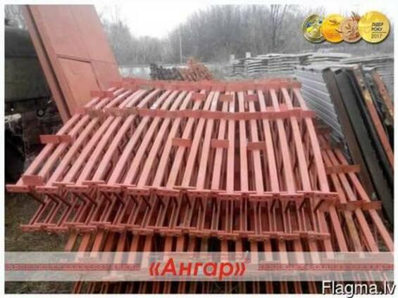 Arhrona tipa angārs. Izmērs ir 15x30x7.5.