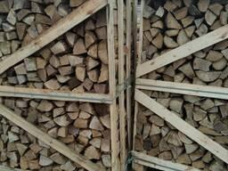 Дрова лиственных пород дуб, граб, техническая сушка