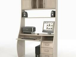 Компьютерный стол со стеллажом. - фото 2