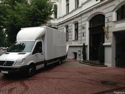 Международный переезд , перевозка вещей и мебели