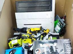 Микс паллеты с электроинструментом и садовым инструментом - photo 7