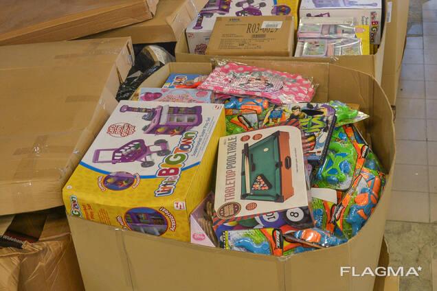 Микс паллеты с игрушками для детей