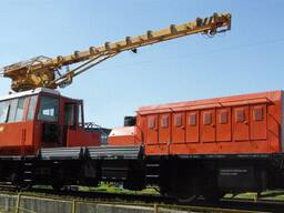 Craned railway vehicle MPT-4