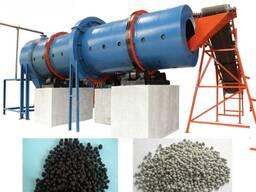 Оборудование для переработки помета, навоза, сапропеля, опилок с гранулированием