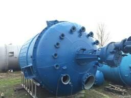 Реактор из нержавеющей стали 25м3.