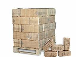 Ruf Briquettes, Briquettes in bags, Hardwood Briquettes