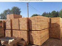 Sawn timber. Bars, pallet boards