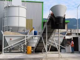 SUMAB Sweden Automatic concrete plant