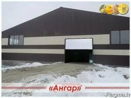 Taisnās sienas angāru ražošana un pārdošana