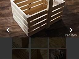 Ящики, поддоны деревянные